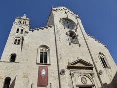 夏の優雅な南イタリア周遊旅行♪ Vol82(第5日) ☆Barletta:美しきバルレッタ大聖堂を眺めて♪