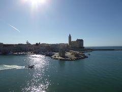 夏の優雅な南イタリア周遊旅行♪ Vol84(第5日) ☆Trani:トラーニの「アバーテ要塞」から素晴らしい眺め♪
