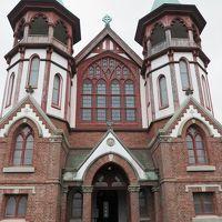 明治村2/8 聖ヨハネ教会堂・聖ザビエル天主堂 ☆京都市内から移築され
