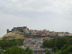 夏の優雅な南イタリア周遊旅行♪ Vol90(第6日) ☆Trani→Melfi:バジリカータ州メルフィへ♪美しき村「メルフィ」の遠景を眺めて♪