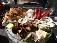夏の優雅な南イタリア周遊旅行♪ Vol103(第6日) ☆Trani:再訪の海鮮リストランテ「Corte in Fiore」 怒涛の新鮮魚介を食べつくす♪