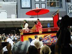 京都祇園祭、後祭り鉾巡行。