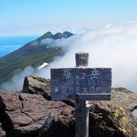 道東の山旅 No2 オホーツク海と大自然の知床連峰最高峰 羅臼岳 岩尾別温泉から♪