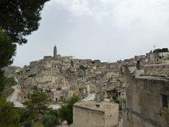 夏の優雅な南イタリア周遊旅行♪ Vol121(第7日) ☆Matera:ついにマテーラ到着♪展望台から世界遺産を眺めて♪