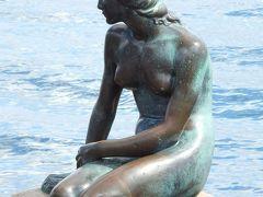 コペンハーゲン  ◆塔とチャーチ◆広場◆運河みたいな水路◆空ペットボトルと空き缶◆『人魚姫』の像◆テーマパーク Copenhagen, Day 2