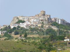 夏の優雅な南イタリア周遊旅行♪ Vol131(第8日) ☆Acerenza:美しき村「アチェレンツァ」の遠景を眺めて♪