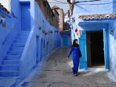 ちょこっとモロッコ。2(青い迷宮、シャウエン)