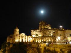 夏の優雅な南イタリア周遊旅行♪ Vol150(第8日) ☆Matera:満月と夜景の素晴らしい競演に酔いしれる♪そして友人よ!さようなら!