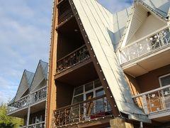 2016年ロシア黄金の環めぐりの旅・ハイライトその6【プリョスのホテルと朝食】ヴォルガ川にプライベートビーチのある別荘タイプのステキなホテルだけど遠くて参ったヴィラ・フォルテツィア(3つ星ホテル)