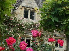 <4>(コッツウォルズ編)『英国旅行。北から南へ・・と 12日間』(「薔薇の花・・咲く!カントリー・サイド」を巡る 1日。 『バース』 は、こじんまり!した・・素敵タウン)