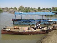 2012年1月、古代クシュ王国のピラミッドを見にスーダンへ�(ナイル川とオムドゥルマン)