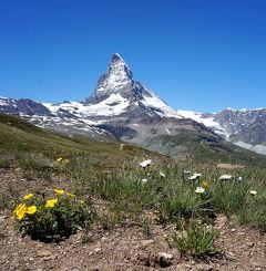 団塊夫婦の2016年絶景アルプストレッキングー(5)ツェルマットその1:マッターホルンを眺めながら歩く・ローテンボーデン~リッフェルアルプ