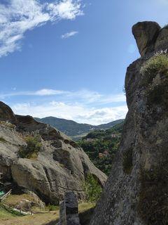 夏の優雅な南イタリア周遊旅行♪ Vol167(第9日) ☆Castelmezzano:美しき村「カステルメッツァーノ」 岩山から素晴らしいパノラマ♪