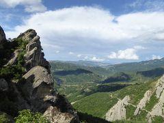 夏の優雅な南イタリア周遊旅行♪ Vol168(第9日) ☆Castelmezzano:美しき村「カステルメッツァーノ」 岩山から猫と一緒に天国のようなパノラマ♪