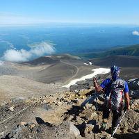 噴煙漂う十勝岳登山と富良野観光 3泊4日道央遠征最終日