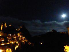 夏の優雅な南イタリア周遊旅行♪ Vol173(第9日) ☆Castelmezzano:美しき村「カステルメッツァーノ」 満月と夜景の幻想的な競演♪