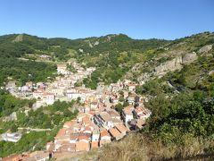 夏の優雅な南イタリア周遊旅行♪ Vol176(第10日) ☆Castelmezzano:美しき村「カステルメッツァーノ」 岩山から朝の絶景を眺めて♪