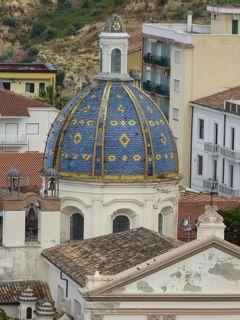 夏の優雅な南イタリア周遊旅行♪ Vol183(第10日) ☆Corigliano Calabro:コリリアーノ・カラブロ旧市街のホテル「Relais Hotel Palazzo Castriota」スイートルームから素晴らしいパノラマ♪