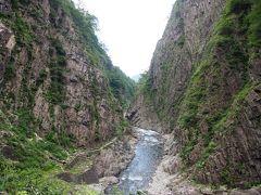 突然思い立って、日本三大峡谷の『清津峡』に行ってみました