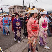 2016年 会津田島祇園祭 七行器行列も見る事出来ました