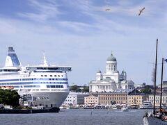 フィンランド 6  Helsinki  海上から見る