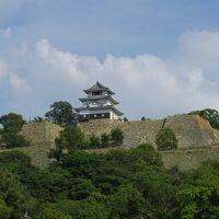 4トラの日本地図塗りつぶし瀬戸内海沿岸の旅:  香川県 丸亀