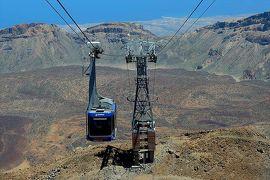 ★カナリア諸島(7)テネリフェ島 テイデ山3555m地点へ