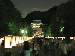 鎌倉鶴岡八幡宮ぼんぼり祭(夜)