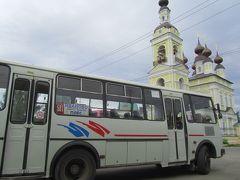 2016年ロシア黄金の環めぐりの旅・ハイライトその11【移動編・バス】日帰りあるいは1泊荷物の軽装で臨んだのんびり田舎を走る長距離バスの旅