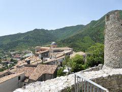 夏の優雅な南イタリア周遊旅行♪ Vol198(第11日) ☆Morano Calabro:廃墟の美しきモラーノ・カラブロ城からのパノラマを眺めて♪