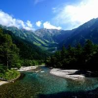 上高地の夏休み