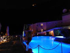 夏の優雅な南イタリア周遊旅行♪ Vol207(第11日) ☆Maratea:マラテーアのホテル「La Locanda Della Donna Monache」のプール庭園でまったりと食後酒♪