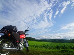 2016北海道バイク旅10日間vol.1(太平洋の船旅&十勝平野の大自然)