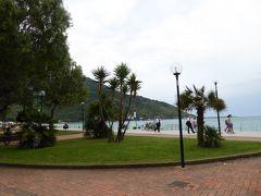 夏の優雅な南イタリア周遊旅行♪ Vol219(第12日) ☆Sapri:人気リゾート地の「サプリ」 ビーチ・公園・プロムナードを優雅に歩く♪