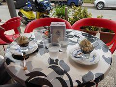夏の優雅な南イタリア周遊旅行♪ Vol220(第12日) ☆Sapri:人気リゾート地「サプリ」 カフェテラスでランチ♪