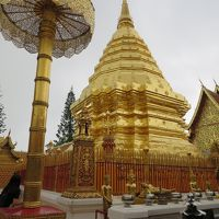 念願の初タイへ☆3 ドイステープ寺院ツアー