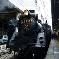 2016お盆SL三連発の鉄分補給旅行�「豪華な初日:サンライズからのSLパレオエクスプレス」