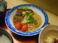 たまには「ベタ」な郷土料理 1607  「焼き鯖そうめん&しじみ料理&鮒寿司」   ~長浜・滋賀~