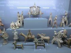 キプロス考古学博物館 (戦士とライダーの像)