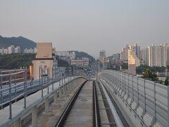 2016年8月韓国鉄道旅行8(仁川地下鉄2号線初乗車)