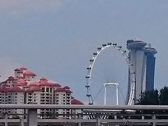ANAでシンガポール-その3-(惹蘭蘇丹蝦麺&ベイエリア観光&Sky Bar  CE LA VI&Others)