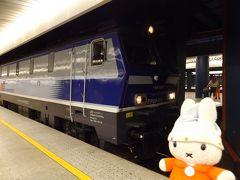 グーちゃん、ポーランドへ行く!(鉄グーちゃん、ワルシャワ中央駅を視察!編)