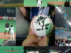 今年2回目の北海道は札幌ドームで野球観戦