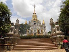ホーチミン市郊外のタイ寺(ブーロン寺)