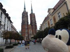 グーちゃん、ポーランドへ行く!(ヴロツワフ/結婚式を巡る徘徊!?・・・編)