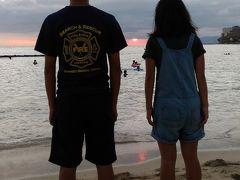 13年ぶりのハワイ満喫の家族旅行(一日目)