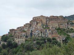 夏の優雅な南イタリア周遊旅行♪ Vol221(第12日) ☆Sapri→Pisciotta:サプリから廃墟の古城を眺めながらピショッタへ♪