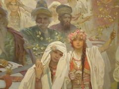 中欧4カ国9日間 Vol.1<出発→プラハ到着 ミュシャ(ムハ)の「スラヴ叙事詩」に感動!>