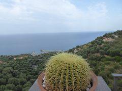 夏の優雅な南イタリア周遊旅行♪ Vol228(第13日) ☆Pisciotta:ピショッタのホテル「Marulivo Hotel」からの朝のチレント海岸を眺めて♪