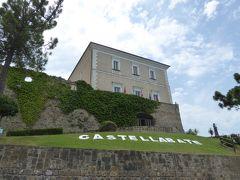 夏の優雅な南イタリア周遊旅行♪ Vol237(第13日) ☆Castellabate:美しき村「カステッラバーテ」 山上のお城を眺めて♪